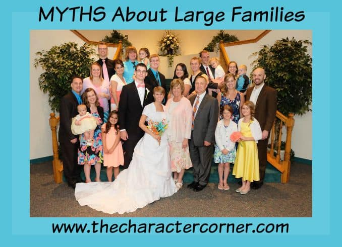 myths about large famiies