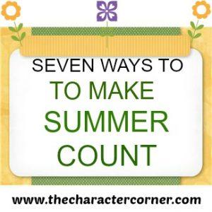 7 Ways to make summer count