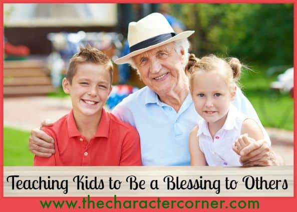 Teaching kids to be a blessing