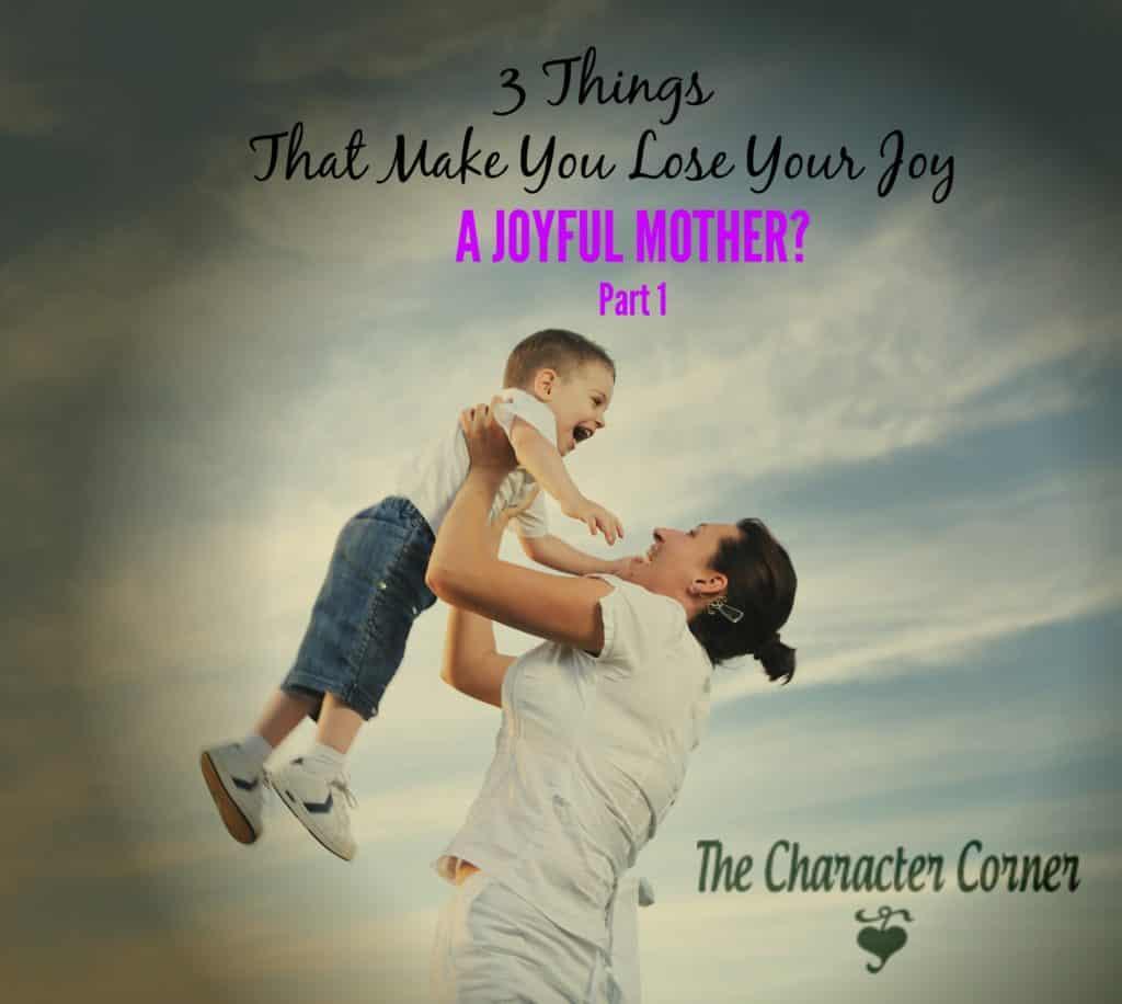 A joyful mother?