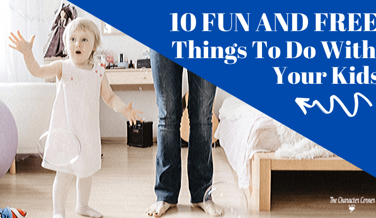 10 Fun And Free Things To Do With Your Kids