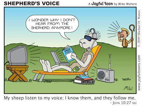 don't hear God's voice