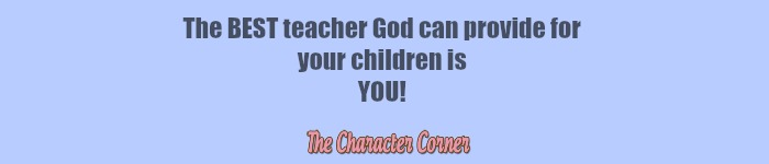 You are best teacher for your kids