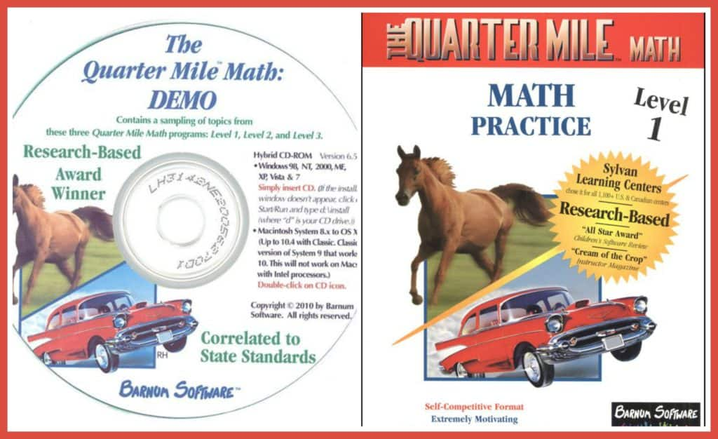 Quarter mile math