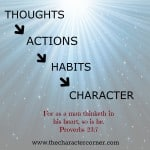 What Fills Your Child's Mind?  31 Days of Character 8