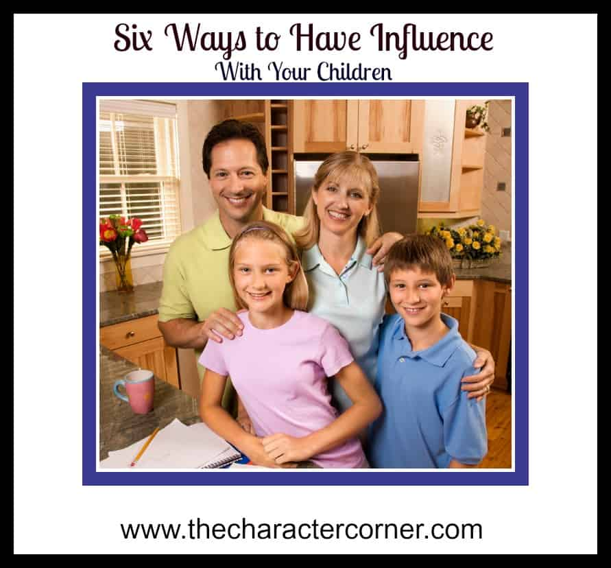 ways to have influence with your family