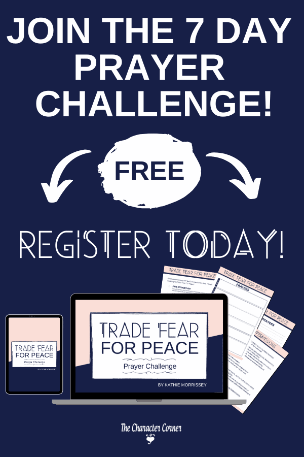 Trade Fear for Peace 7 Day Prayer Challenge