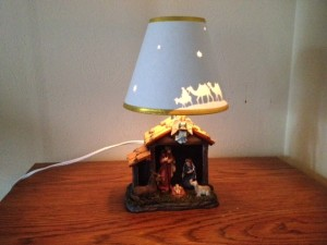 nativity night light