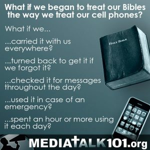 treat Bible like cell