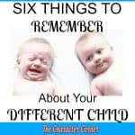 6 Things To Remember About Your Different Child