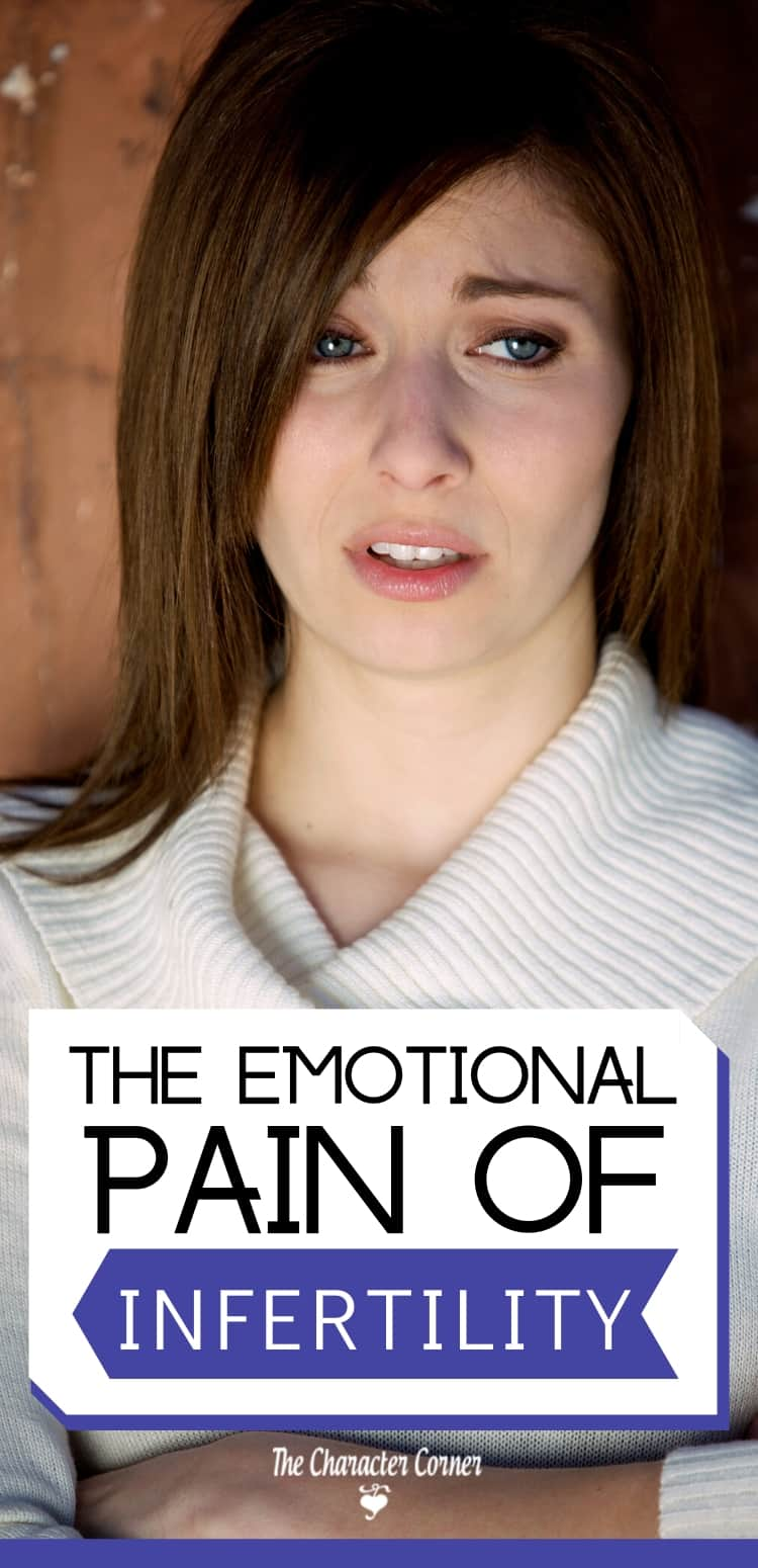 Woman sad and in emotional pain