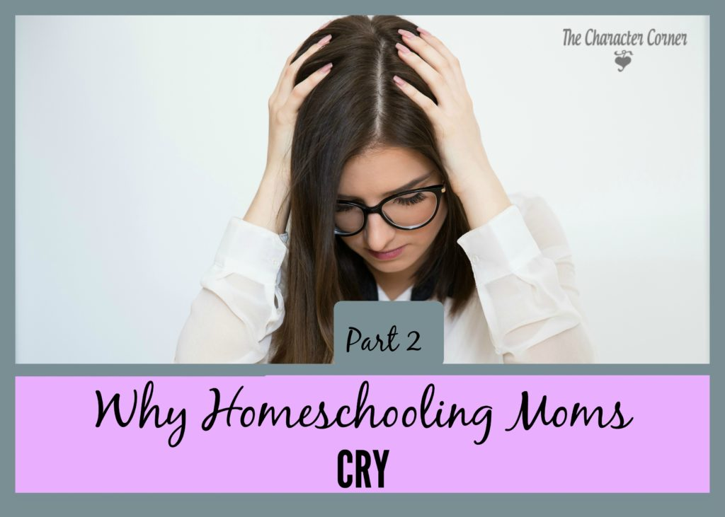 Why homeschooling moms cry