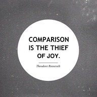 comparison thief of joy