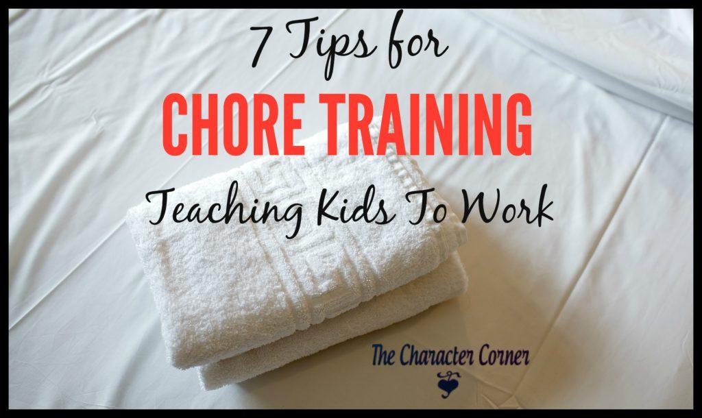 Teaching kids to work