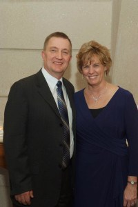 Wedding pic - Alan & Me