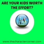 kids worth effort