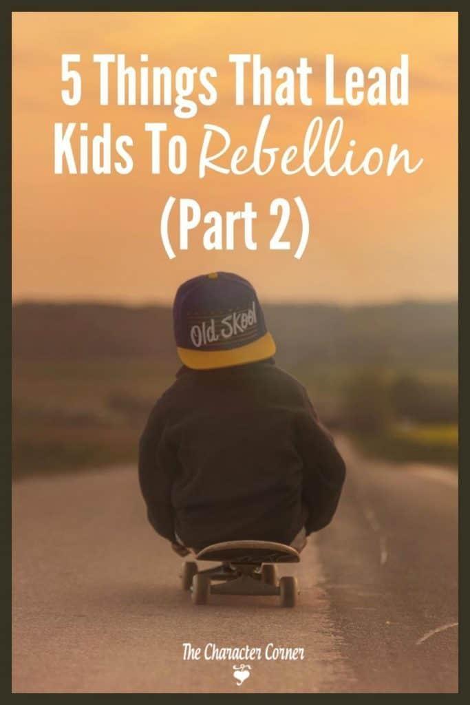 rebellion in kids