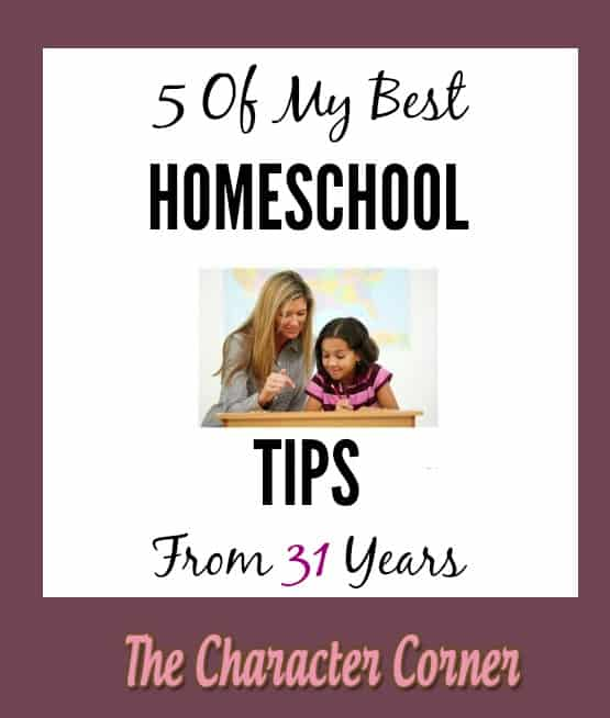 5 of my best homeschooling tips
