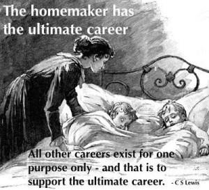 homemaker has ultimate career