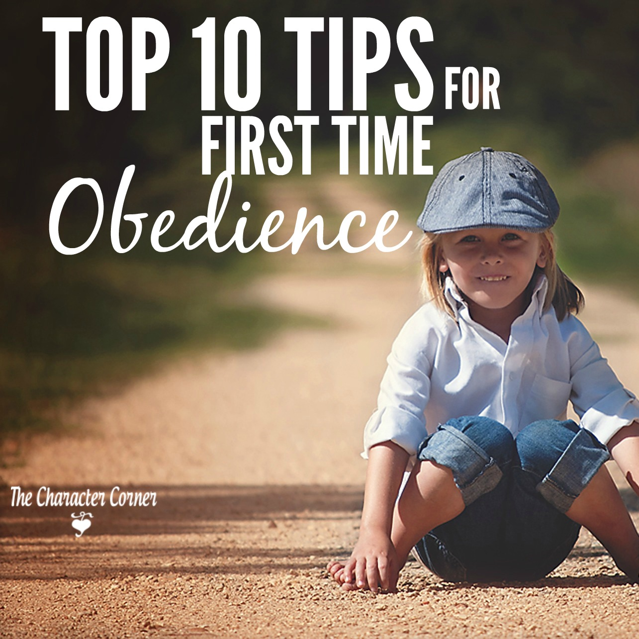 10 Tips for First Time Obedience - The Character Corner