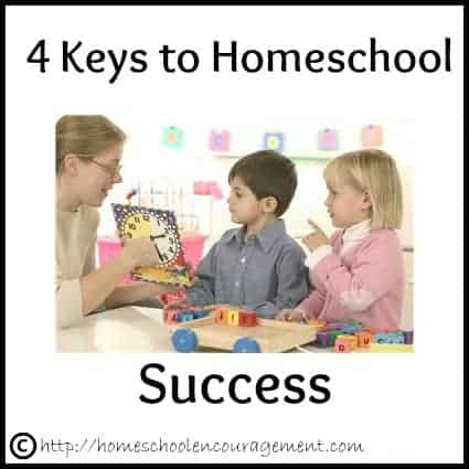 Keys to Homeschool Success