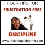 frustration free discipline
