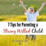 7 Tips For Parenting a Strong-Willed Child