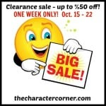 The CLEARANCE SALE IS HERE!