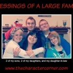 blessings of large family