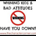 whining kids