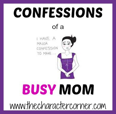 confessions of busy mom