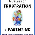 6 causes of frustration in parenting