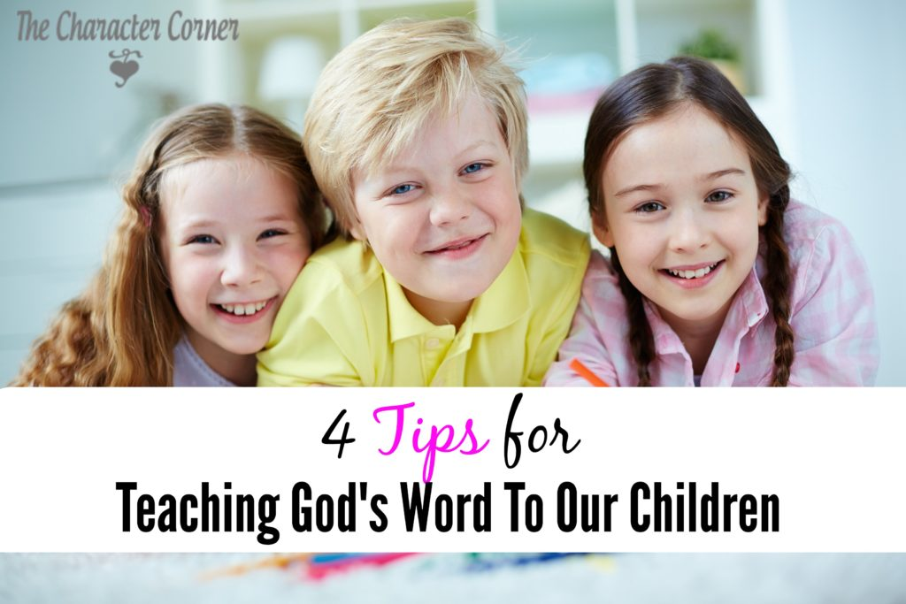 Teaching Bible to our kids