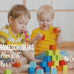 7 Tips for Homeschooling With Toddlers & Preschoolers