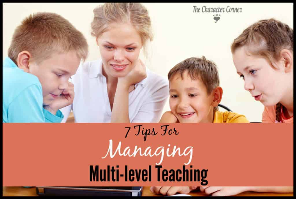 Tips for multi-level teaching