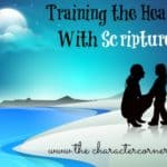 Training Kids' Hearts With Scripture