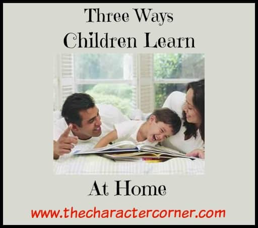 Ways kids learn at home
