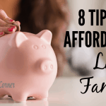 8 Tips For Affording a Large Family