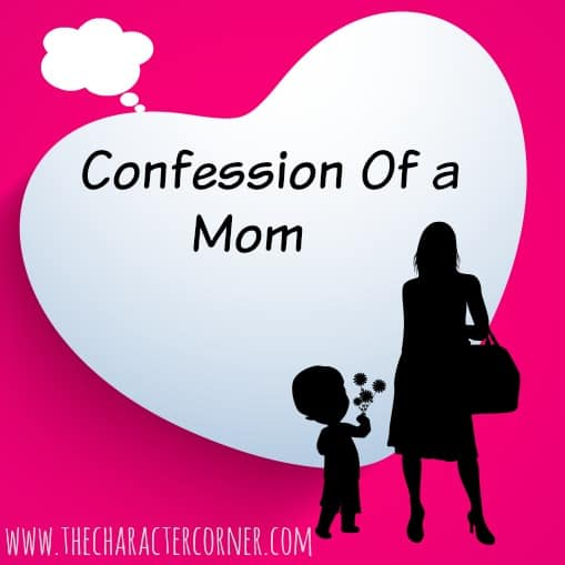 confession of a mom
