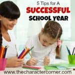 tips for successful school year