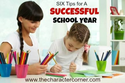 Tips for a successful school year