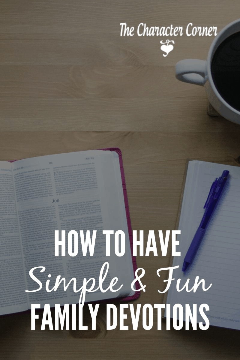 simple family devotions