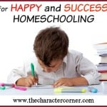 Tips for Happy & Successful Homeschooling