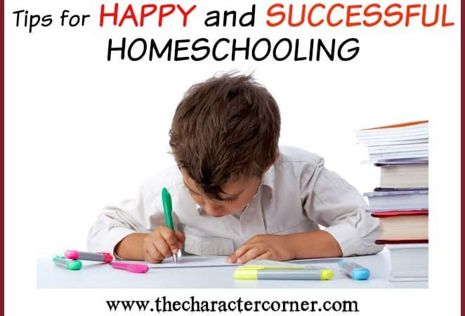Happy & Successful Homeschooling