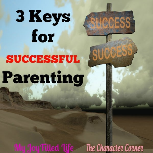 successful parenting keys