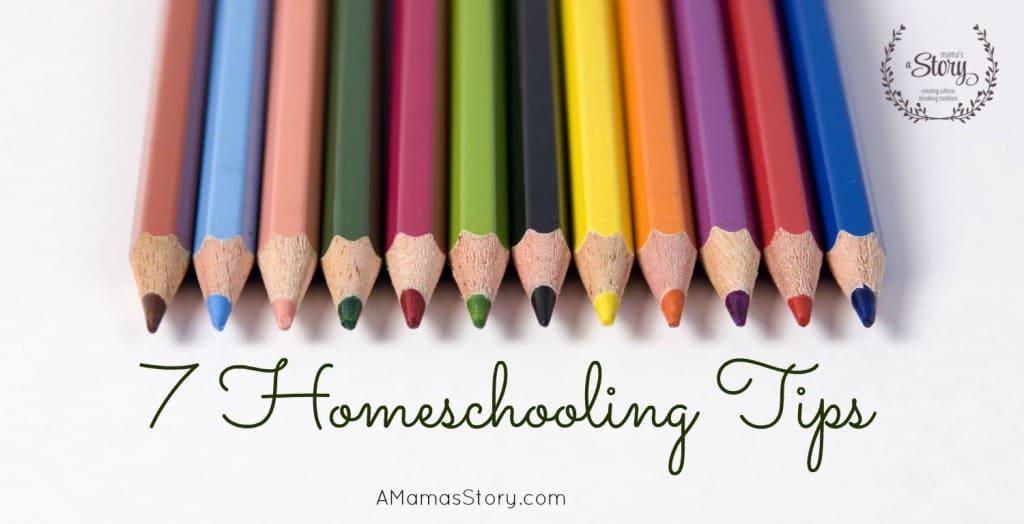 7 Homeschooling Tips