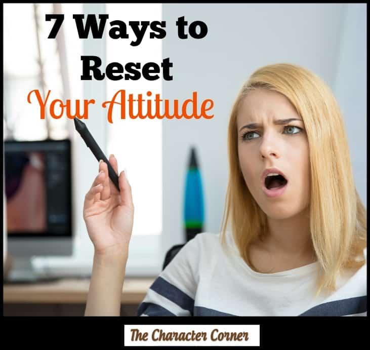 7 ways to reset attitude