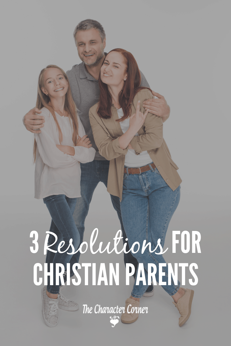 happy family 3 resolutions for Christian Parents
