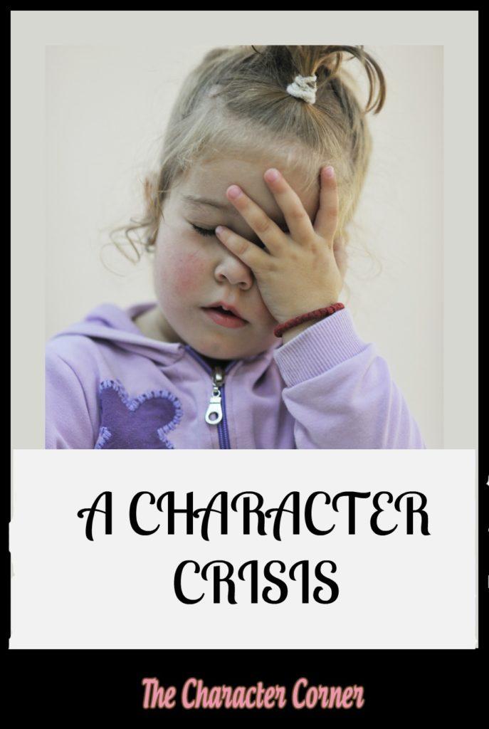 Character crisis