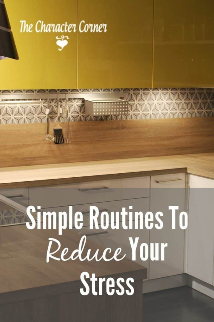 Simple routines to reduce homeschool stress